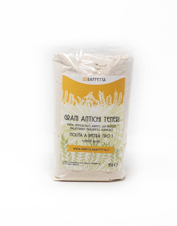 Trattoria Stazione - farina di tipo 1 di grani antichi teneri